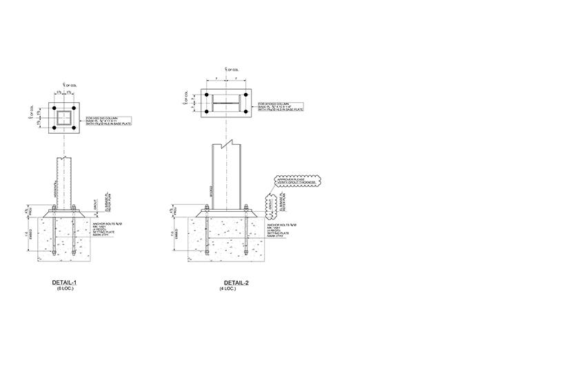 MDS Steel Detailing Shop Drawings | Structural Steel Drawings