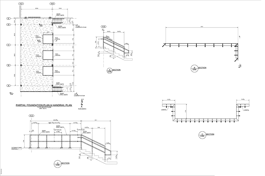 MDS Steel Detailing Shop Drawings | Structural Steel Drawings