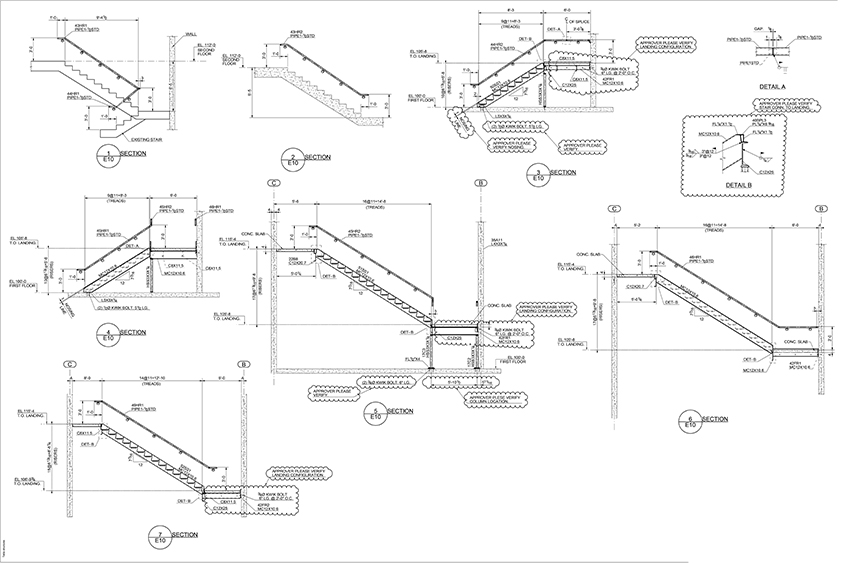 Mds Structural Steel Drawings Examples Project Pg4