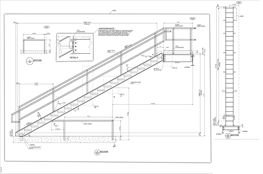 Steel Stair Railing Details 02. Pin It