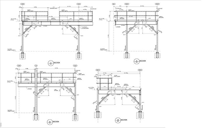 mezzanine floor steel mezzanine floor details