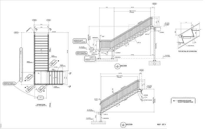 metal detailing solutions steel shop drawings examples